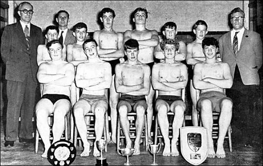 1960 Swimming Team Mayfield Memories
