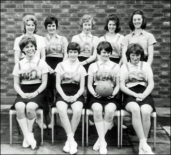 Mayfield Girls School Netball Squad 1962