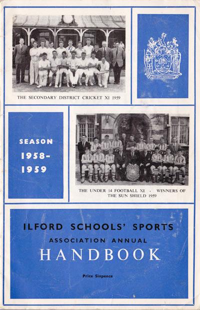 1958-59 ISSA Handbook