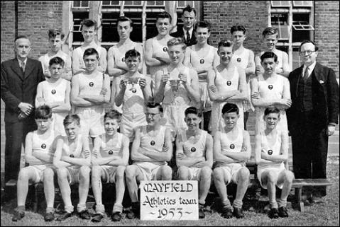 Mayfield Boys Athletic Team 1953