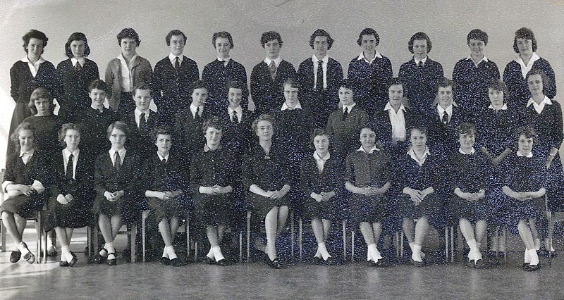 Mayfield Girls School 1959 Form 4X