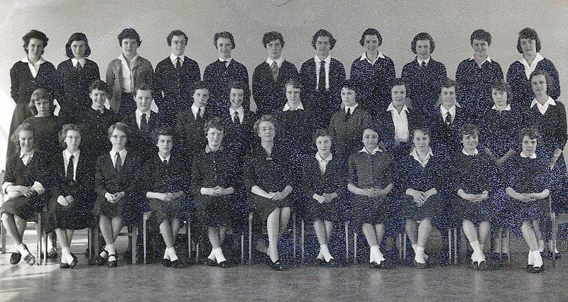 Mayfield Girls School 1959 Form 4X